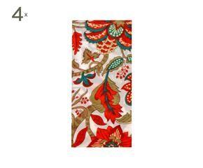 Tovaglia rossa passione a tavola dalani e ora westwing - Tovaglie plastificate design ...