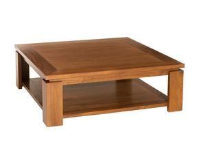 Tavolino basso in legno tradizione in salotto dalani e - Costruire tavolino ...