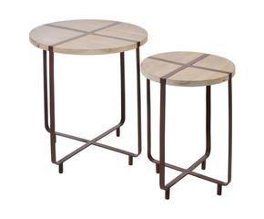 dalani | tavolini da salotto in ferro battuto: solidi e eleganti - Tavolino Soggiorno Dalani 2