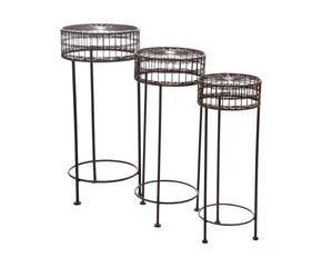 DALANI | Tavolino in ferro battuto: romantici ghirigori