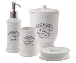 Portasapone accessori chic per il bagno dalani e ora for Accessori bagno dalani