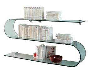 Mensole in vetro: pratiche trasparenze - Dalani e ora Westwing