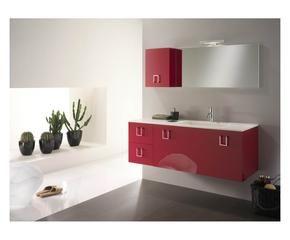 DALANI | Mobile bagno rosso: energia e passione in casa