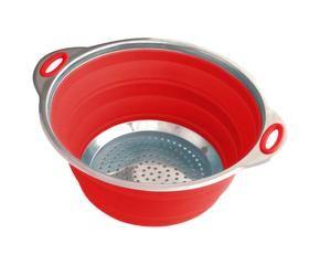 Scolapasta utensile da cucina pratico e di design - Coprilavello cucina acciaio ...