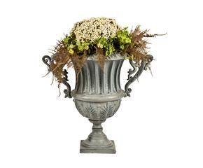 Vasi in metallo stile per i tuoi fiori dalani e ora for Vasi rossi moderni
