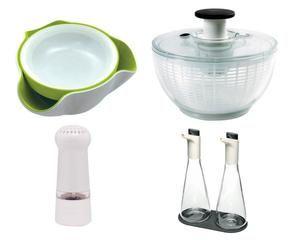 Centrifuga per insalata asciuga con un gesto dalani e ora westwing - Coprilavello cucina acciaio ...