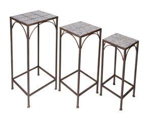 WESTWING | Tavolino in ferro battuto: romantici ghirigori