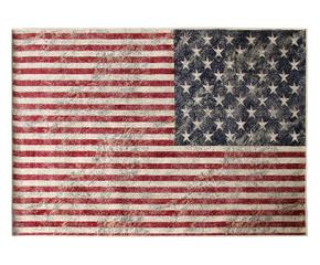 Tappeto con bandiera americana stile made in usa dalani - Tappeto in inglese ...