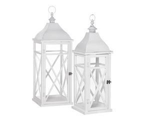 Lanterne portacandele luminosa magia dalani e ora westwing - Lanterne portacandele ...