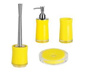 Bagno giallo il colore del sole nella tua casa westwing for Accessori bagno dalani