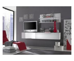 Pannello Porta Tv A Muro. Cheap Mobile Soggiorno Con Pannello Per Tv ...