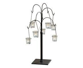 Porta tealight piccole luci per ogni occasione dalani e - Portacandele da parete ...