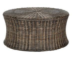 Pouf in rattan sedute di stile per la tua veranda for Dalani pouf