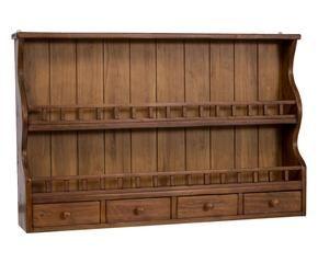 Credenza Piattaia Ikea : Piattaia a muro legno massello with