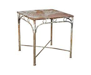 Tavolino in ferro battuto: romantici ghirigori - Dalani e ora Westwing