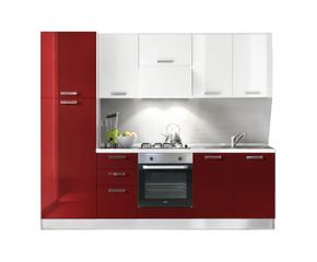 Cucina rossa un concentrato di vitalit westwing dalani e ora westwing - Cucina rossa e bianca ...