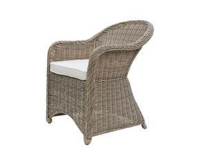 Poltrone in vimini mobili per un giardino da sogno for Poltrone da terrazzo