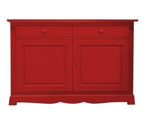 Credenza colorata dettagli vivaci in legno dalani e ora for Credenza colorata