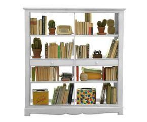 Parete attrezzata provenzale mobile per il living - Libreria in camera da letto ...