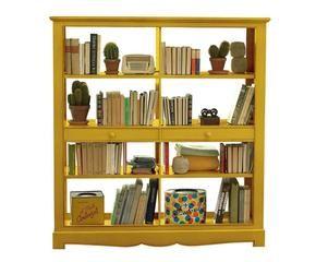 Parete attrezzata arte povera eleganza frugale dalani e for Libreria dalani