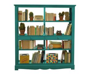 Libreria verde relax e colore in casa dalani e ora westwing - Libreria verde ...