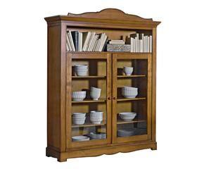 Parete attrezzata classica struttura design in legno for Parete attrezzata classica contemporanea