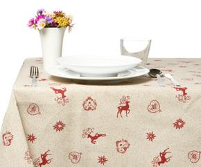 Tovaglie natalizie eleganza in tavola dalani e ora westwing - Tovaglie plastificate design ...