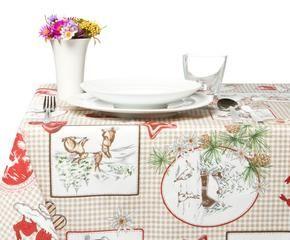 Tovaglie natalizie eleganza in tavola dalani e ora westwing for Tovaglie provenzali