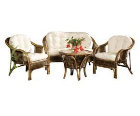 Salotto in vimini relax di stile in giardino dalani e ora westwing - Salottini per esterno ...