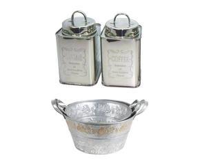 DALANI | Barattoli in metallo: ordine e design in cucina
