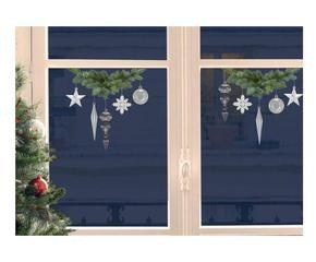 Addobbi natalizi per finestre colorati e divertenti dalani e ora westwing - Adesivi natalizi per finestre ...