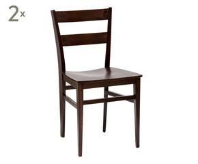 dalani   sedie in wengè: il fascino del legno - Sedie Soggiorno Dalani 2
