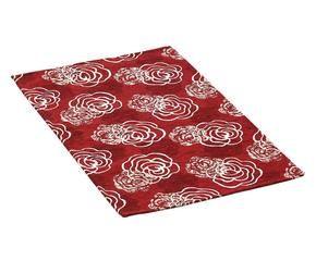 Passatoia natalizia tappeto decorativo per la casa - Tappeto rotondo rosso ...