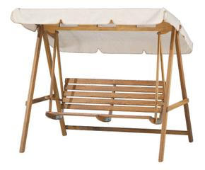 Dondolo in legno una bella seduta da giardino dalani e for Dondolo per giardino