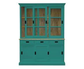 Credenza Rustica Verde : Credenza colorata dettagli vivaci in legno dalani e ora westwing