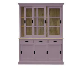 Credenza Alta Rustica : Credenza colorata dettagli vivaci in legno dalani e ora westwing