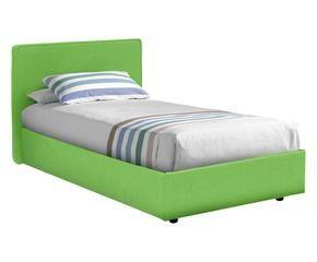 High Quality Struttura Letto Singolo Ninfea Verde   95x95x205 Cm ...