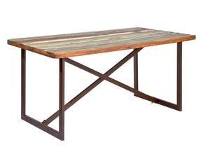 Tavoli in legno grezzo bellezze al naturale dalani e ora westwing - Decoupage su mobili in formica ...