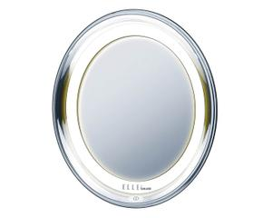 Specchio da tavolo con luce un must per il trucco dalani e ora westwing - Specchio ingranditore con luce ...