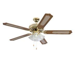 Lampadario ventilatore per un 39 estate al fresco dalani e for Lampadario a pale brico
