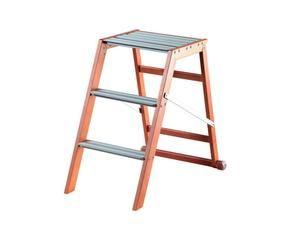Sgabello in acciaio gradini larghi antiscivolo scala con