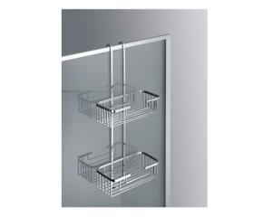 Mensole per doccia relax da appendere in bagno dalani e ora westwing - Mensole bagno plexiglass ...