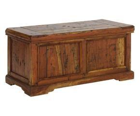 Cassapanca in legno arredi per la camera da letto for Cassapanca vimini