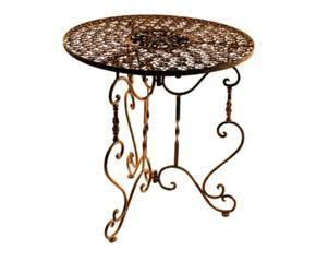DALANI | Tavolini da salotto in ferro battuto: solidi e eleganti