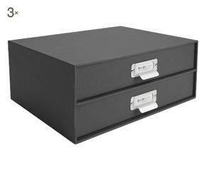 Schedario da tavolo una scrivania in ordine dalani e - Cassettiera schedario da ufficio ...