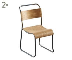 dalani   sedie in legno: giocare con i contrasti - Sedie Soggiorno Dalani 2