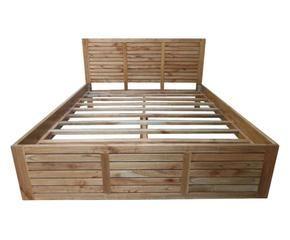 Letti king size per un sonno in grande stile dalani e ora westwing - Letto contenitore materasso 180x200 ...