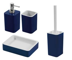 Mobile bagno blu accessori per una stanza di relax - Mobile bagno blu ...