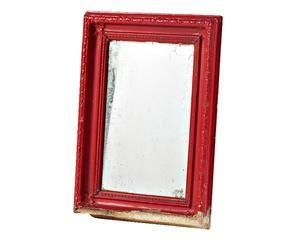 Specchio rosso un tocco di passione alla parete dalani specchio