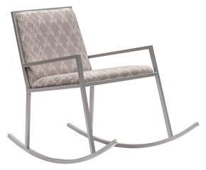 Free sedia a dondolo in ferro e lycra chair g xx cm with sedia a dondolo design - Poltrona a dondolo di design ...